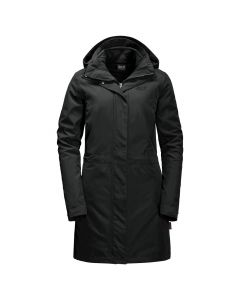 Jack Wolfskin Ottawa Coat - 3i1 Damefrakke