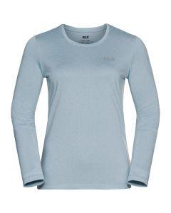 Jack Wolfskin Sky Thermal LS T-Shirt - Dame
