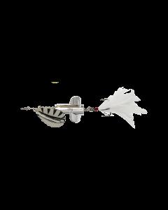 DAM Rattlin Spinner - Silver