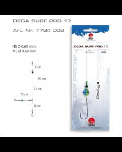 Jenzi Surfcasting-Rig DEGA-SURF Pro 17 Forfang
