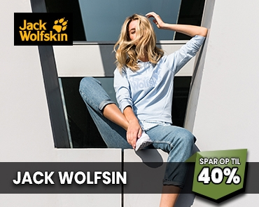 Jack Wolfskin udsalg hos Lystfiskeren.dk