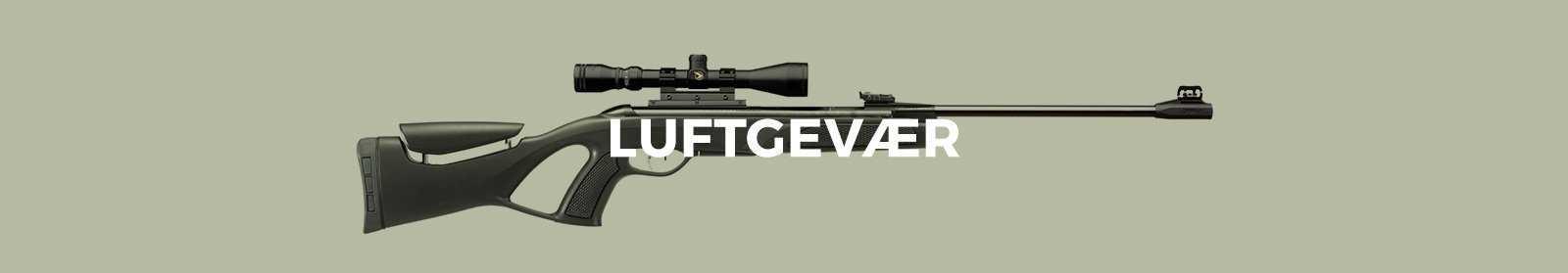 Luftgevær - kvalitets luftgevær online