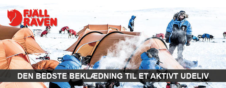 FjällRäven jakker, bukser, rygsække og tilbehør hos LYSTFISKEREN.dk