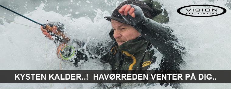 Vision fiskegrej, beklædning & udstyr hos LYSTFISKEREN.dk