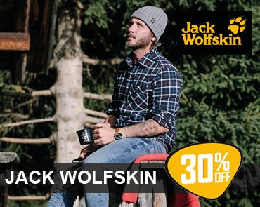 Spar 30% Jack Wolfskin jakker, tøj & sko hos LYSTFISKEREN.dk