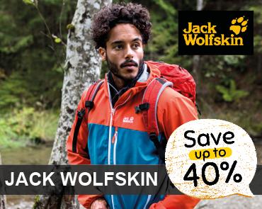 Spar -40% på Jack Wolfskin hos LYSTFISKEREN.dk