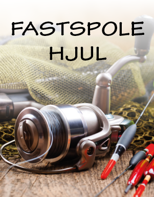 Fastspolehjul hos LYSTFISKEREN.dk