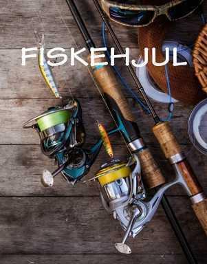 Fiskehjul hos LYSTFISKEREN.dk