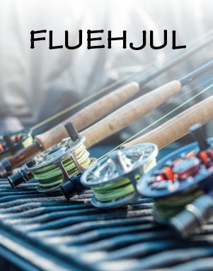 Fluehjul til lystfiskeri hos LYSTFISKEREN.dk
