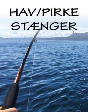 Hav- og pirkestænger på LYSTFISKEREN.dk