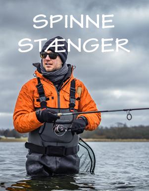 Spinnestænger til lystfiskeri hos LYSTFISKEREN.dk