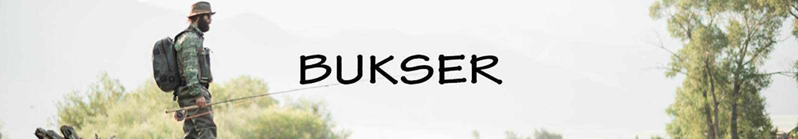 Fiskebukser hos LYSTFISKEREN.dk