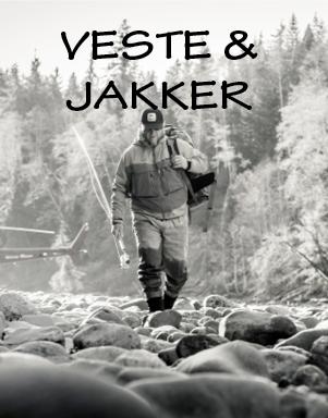 Jakker og veste til lystfiskeri hos LYSTFISKEREN.dk